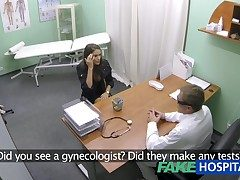 FakeHospital Hot unsubtle with heavy tits gets doctors treatment winning learning she can squirt