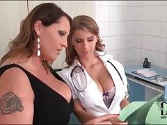 Doctor gets hurtful with her lesbian instance
